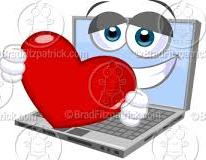 Computer and heart