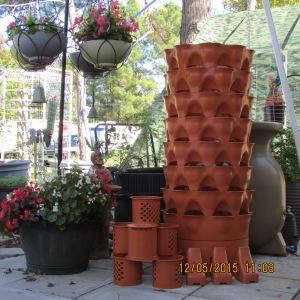 Garden Tower assembled