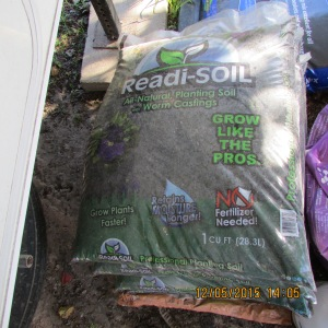 High-quality planter soil