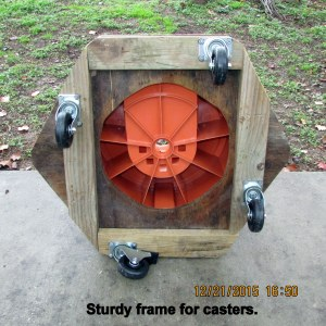 Under side of dolly