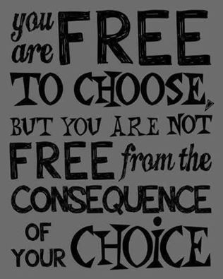 Poster, you are free to choose