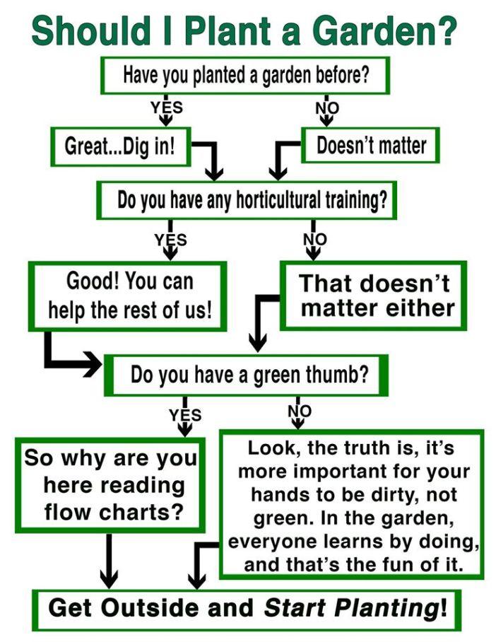 Should I plant a garden poster
