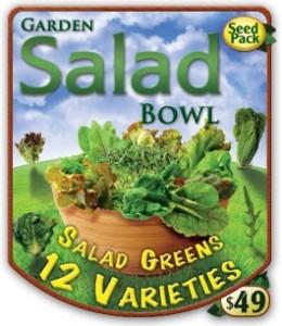 Garden salad seeds