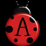 Letter A Ladybug