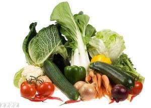 Veggies, lots of veggies