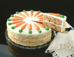 Carrot cake my favorite please be my guest