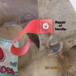 Repaired handle