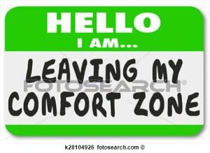 Hello I'm leaving my comfort zone
