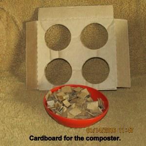 Cutting up cardboard (1)