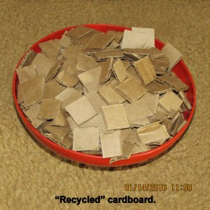 Cutting up cardboard (2)