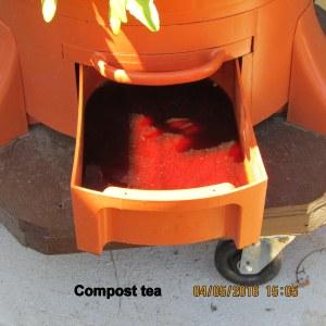 Garden Tower compost tea