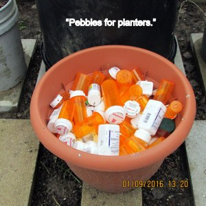 Pebbles for planters