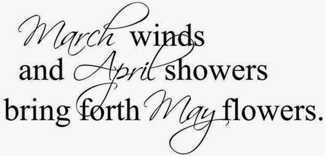March April English Proverb