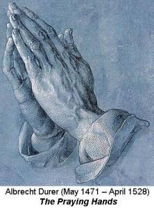 Durer's praying hands