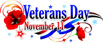 Veteran's Day (for 2016)