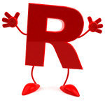 letter-r-red-with-arms-and-legs